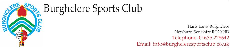 Burghclere Sports Club